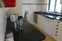 Ein Bild von unserer Küche.