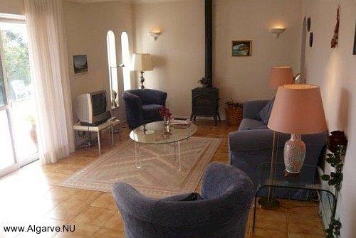 Das Wohnzimmer von Vila Maria, gemütlich und angenehm.